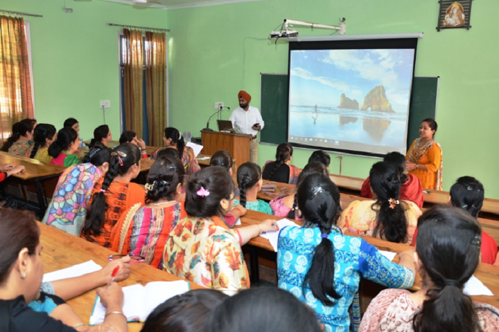 Sant Singh Sukha Singh Khalsa Senior Secondary School-Seminar Room