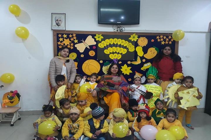 Ajit Vidialay-Yellow Day