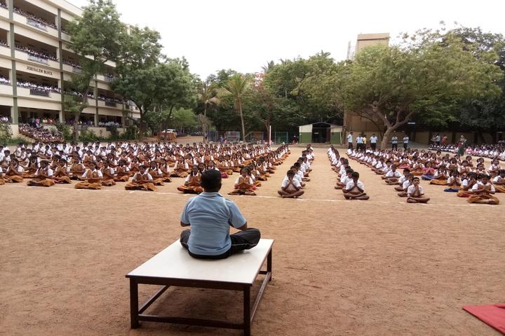 Sethu Bhaskara Matriculation Higher Secondary School-Yoga