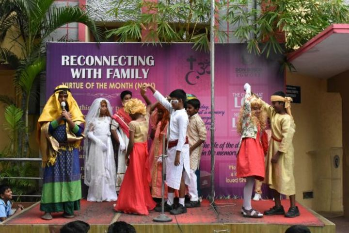 Don Bosco Matriculation Higher Secondary School-Singing