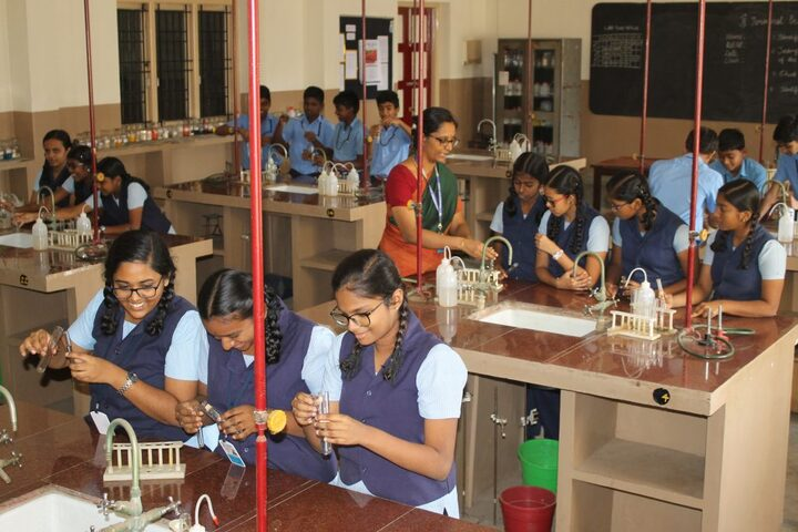 SBOA Matriculation Higher Secondary School-Chemistry-Lab