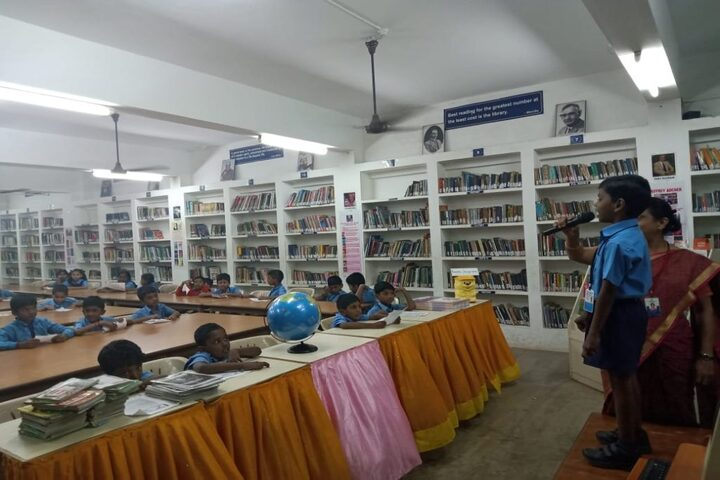 SBOA Matriculation Higher Secondary School-Kids Library