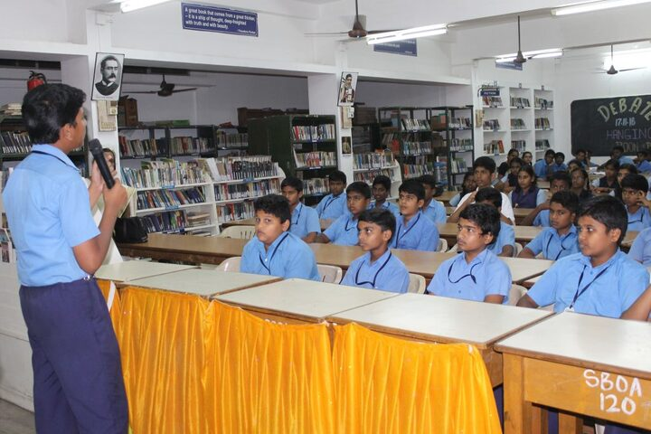 SBOA Matriculation Higher Secondary School-Library