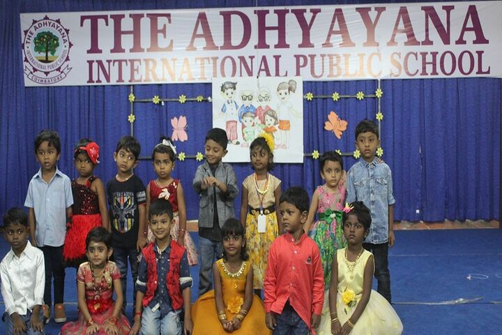 The Adhyayana International Public School-Childrens Day
