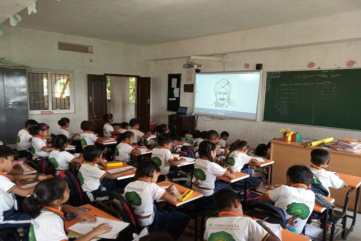 The Adhyayana International Public School-Drawing Classes