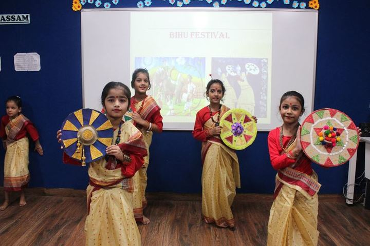 The Manthan School-Cultural Activity