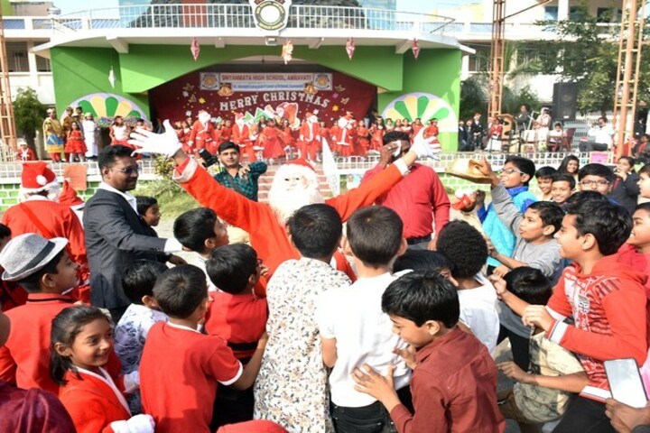 Dnyanmata High School-Christmas Celebrations