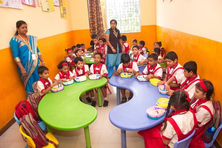 Jana Gana Mana English Secondary School-Cafeteria