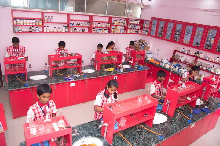 Jana Gana Mana English Secondary School-Chemstry Lab
