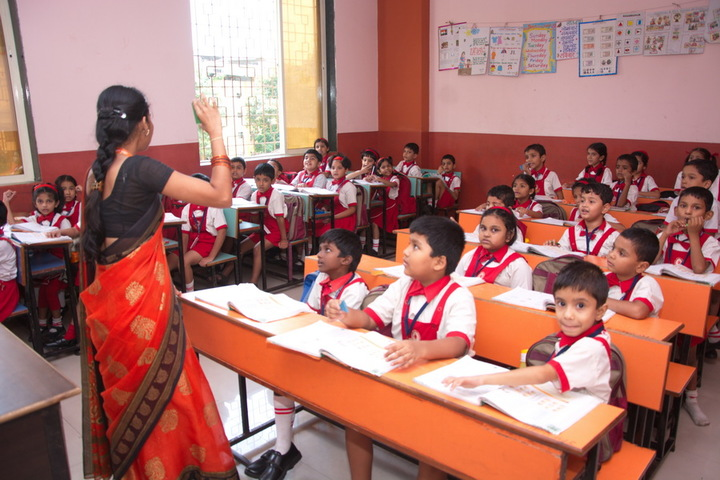 Jana Gana Mana English Secondary School-Class Room