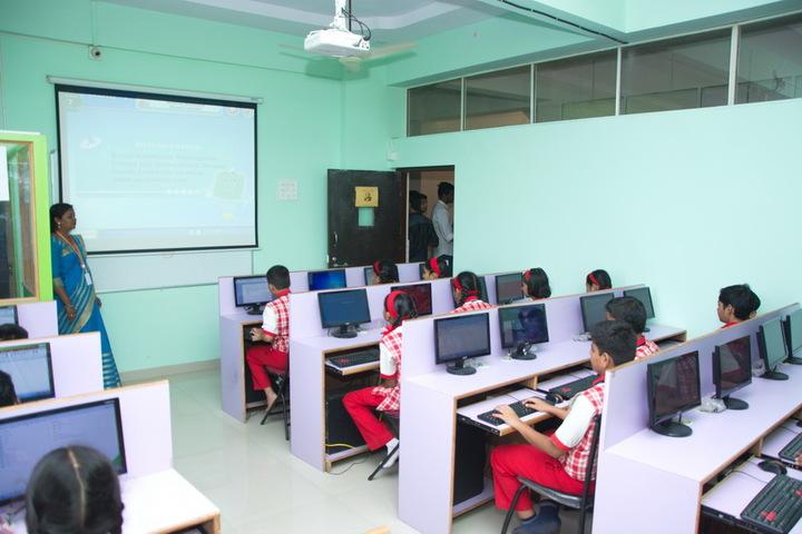 Jana Gana Mana English Secondary School-Computer Lab