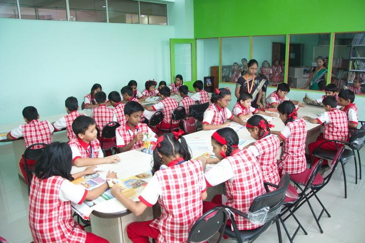 Jana Gana Mana English Secondary School-Library