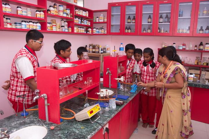 Jana Gana Mana English Secondary School-Physic Lab