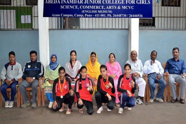 Abeda Inamdar Junior College for Girls-Winners