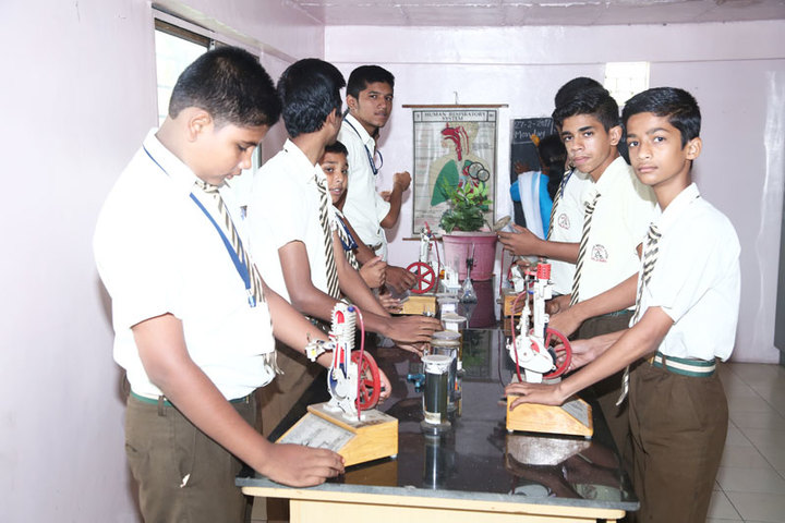 Anjali English School-Biology Lab