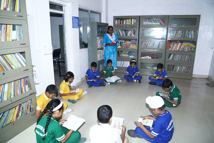 Anjali English School-Library