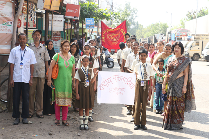 Anjali English School-Rally