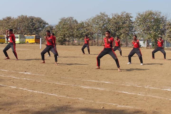 BoB Primaan International School-Karate Activity