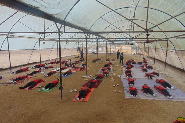 BoB Primaan International School-Yoga Activity