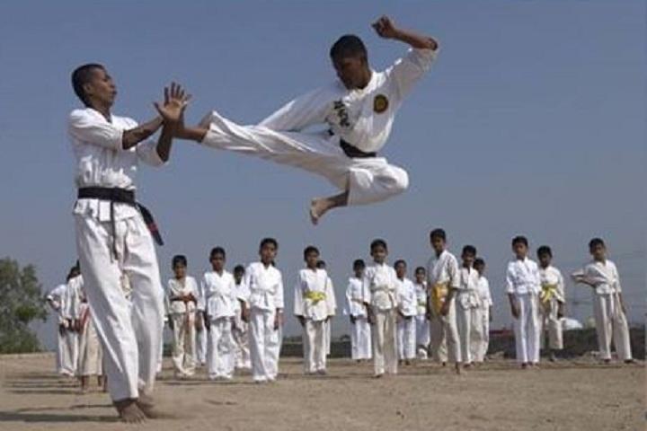 Netaji Subhash Chandra Bose Boys Military School-Karate