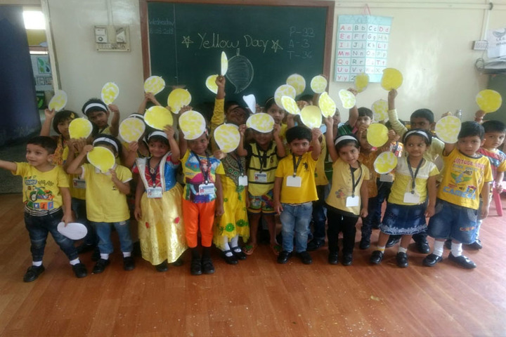 P Jog Junior College of Science and Commerce And Arts-Yellow Day