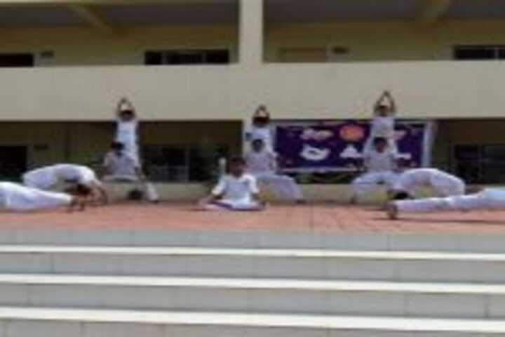 Priyadarshani School-Yoga Day