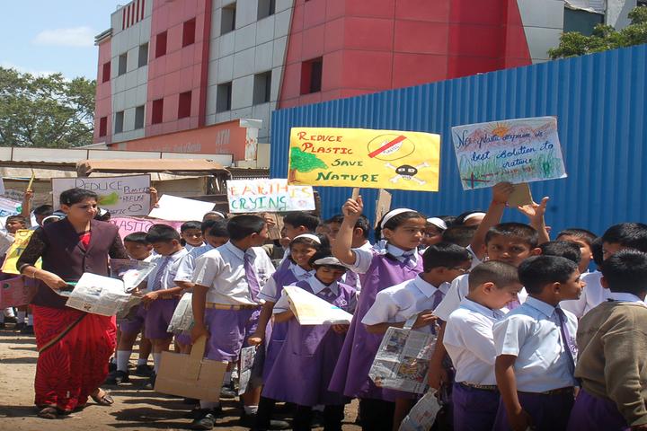 Priyadarshani School-Anti Plastic Day Rally