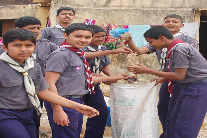 Priyadarshani School-Swachhta Abhiyan
