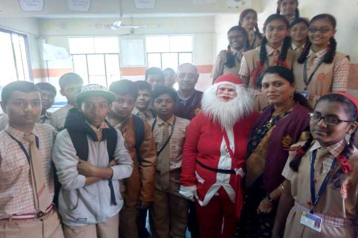 S S English Medium School-Christmas Celebrations
