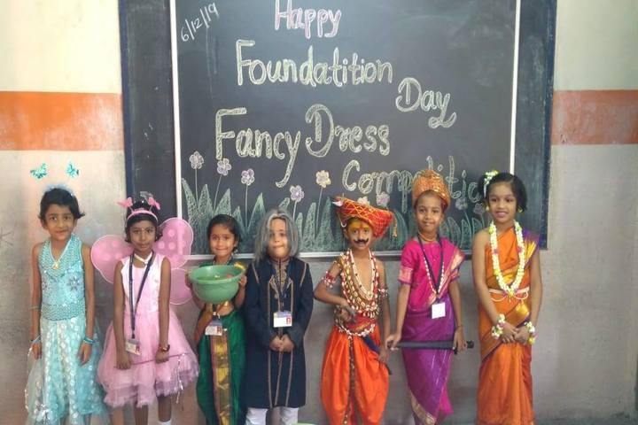 S S English Medium School-Fancy Dress Competition