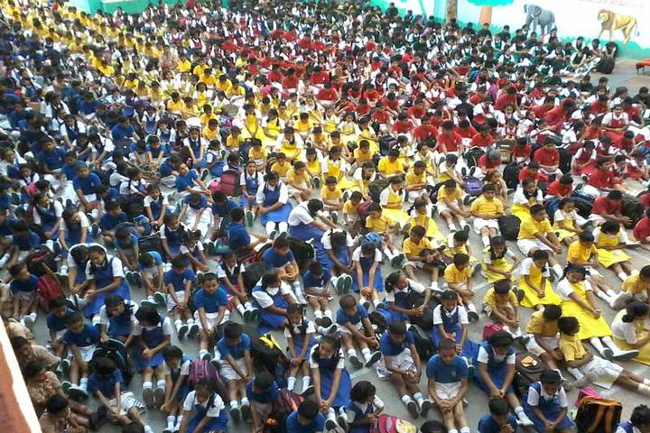S S English Medium Schooll-Sports Day