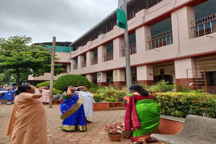 St Josephs Convent Girls High School-Flag Hosting