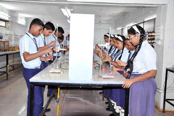 Unique English Medium School and Junior College-Chemistry-Lab