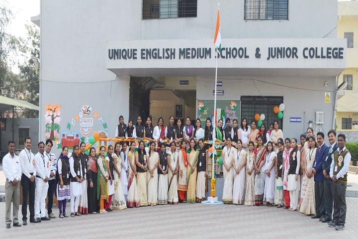 Unique English Medium School and Junior College-Staff