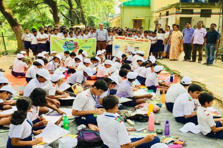 B E College Model School-Drawing Activity