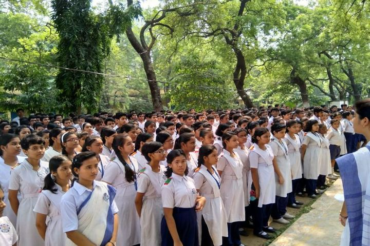 B E College Model School-Morning Assembly