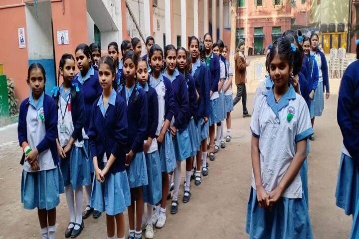 Beltala Girls High School-Morning Assembly