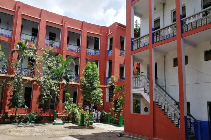 Beltala Girls High School-School View