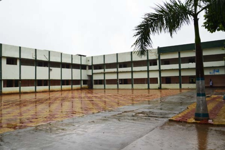 Johhpur Park Boys High School-Assembly Area