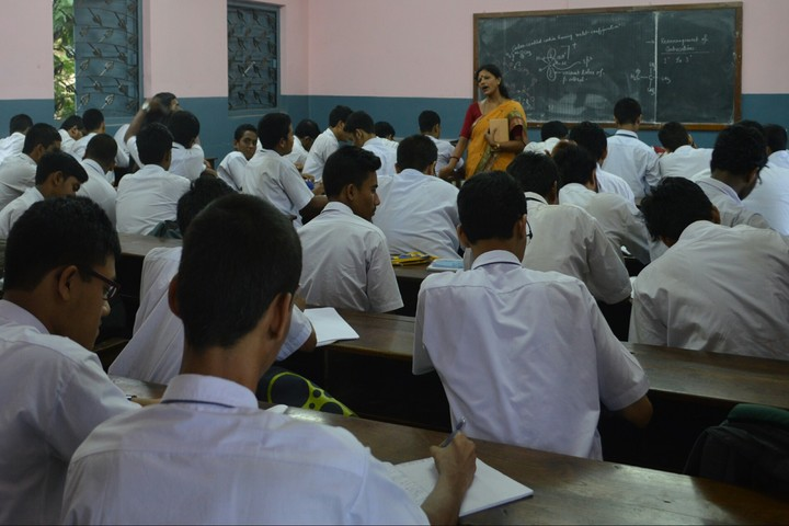 Johhpur Park Boys High School-Classroom