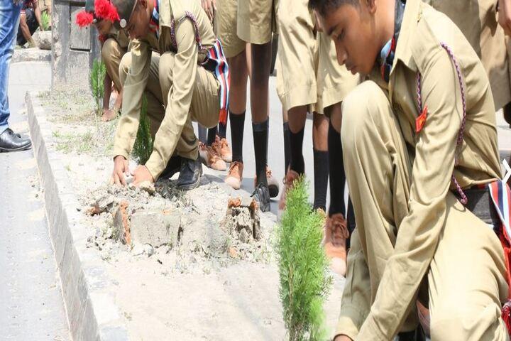 Madhyamgram High School-NCC