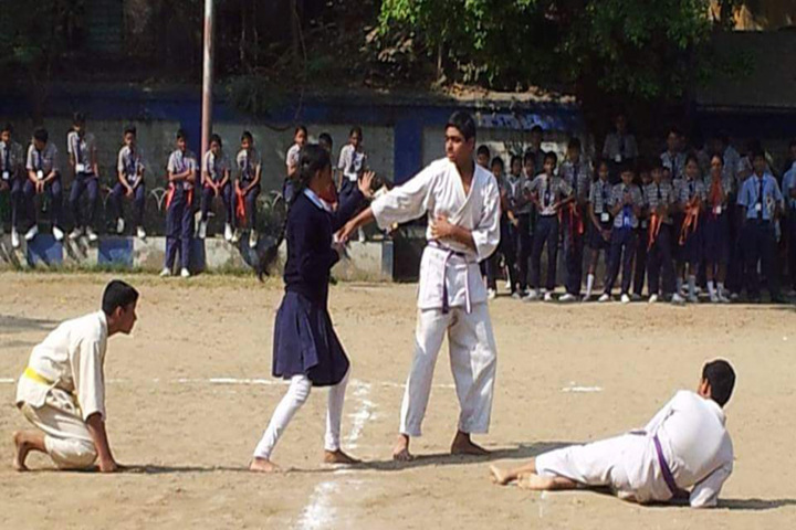 The New Horizon School-Karate