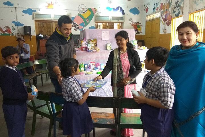 The New Horizon School-Kids Activity