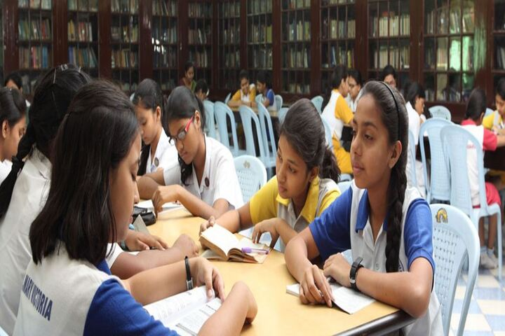 St Johns Diocesan Girls Higher Secondary School-Library