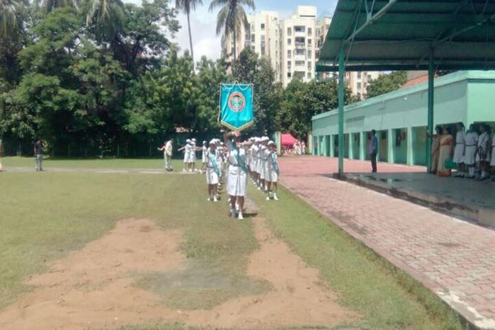 St Johns Diocesan Girls Higher Secondary School-March Past