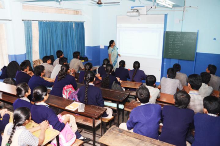Jeevan Sadhana High School-Smart Class