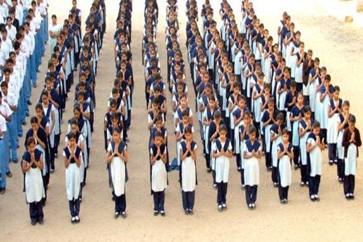 Mahatma Gandhi High School-Assembly