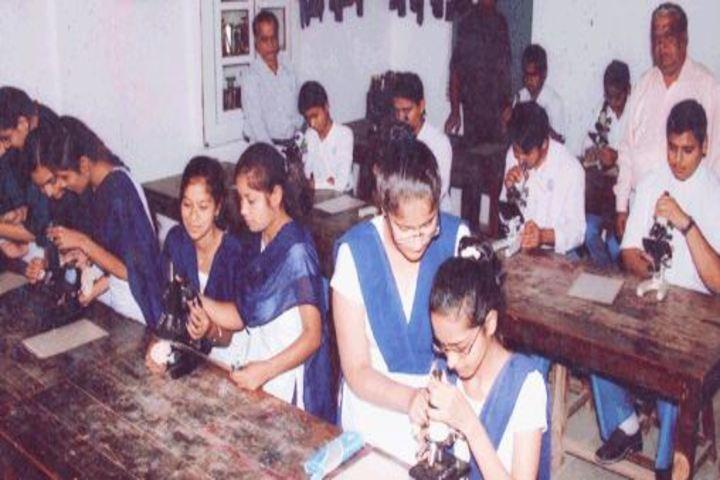Mahatma Gandhi High School-Biology-LAb