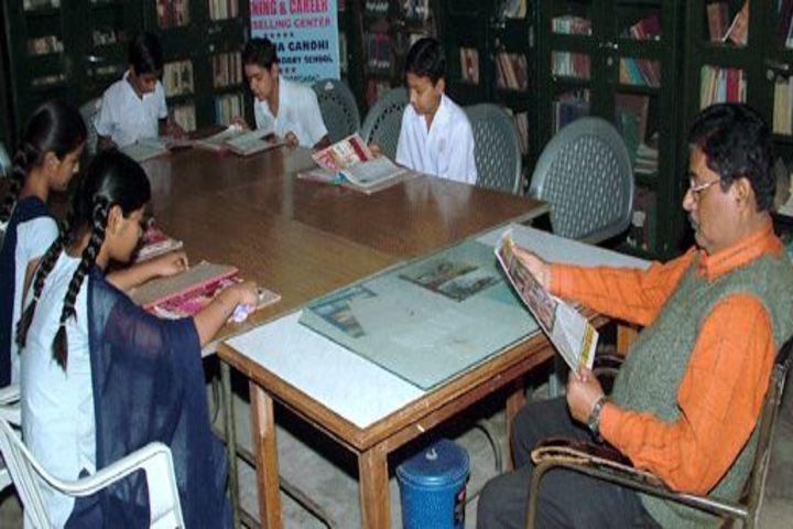 Mahatma Gandhi High School-Library