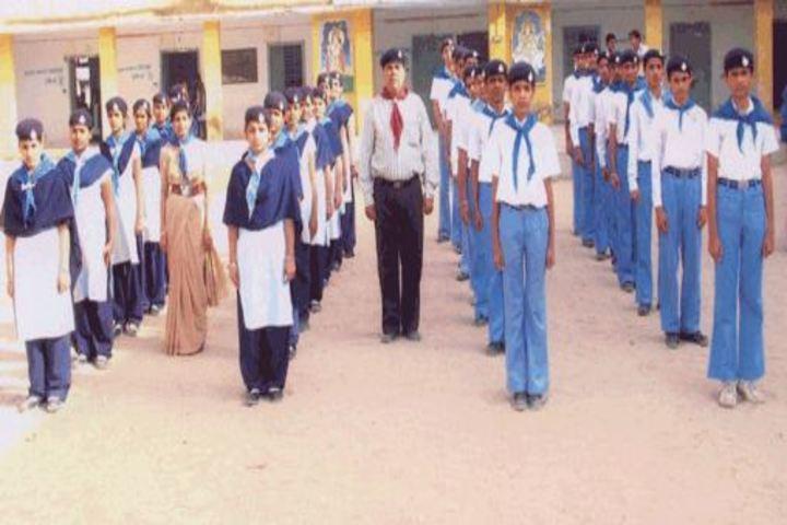 Mahatma Gandhi High School-NCC